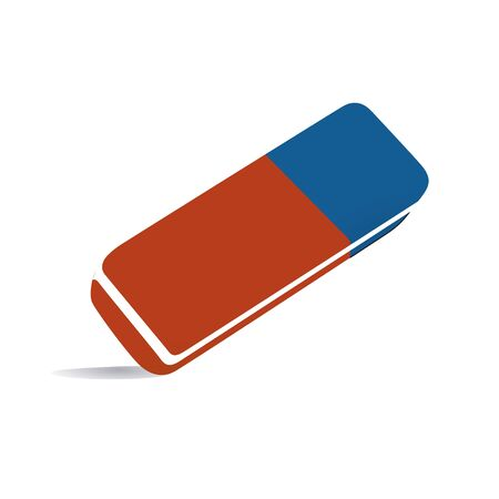 streaking: eraser