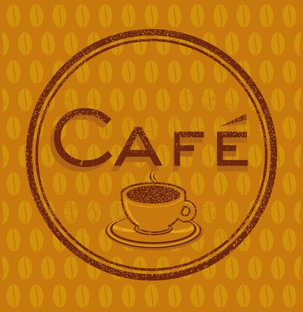Coffeehouse Cafe sign Stock Vector - 12385255