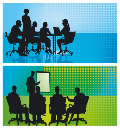 training: Professionele training en Consulting Stock Illustratie