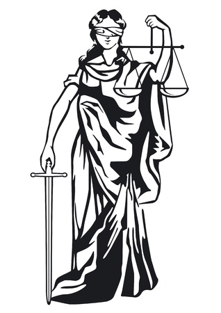 jurors: Statue of justice