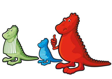 cordial: three little dragons