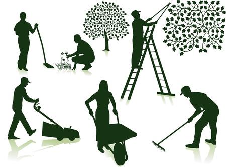 jardinero: jardín de la atención