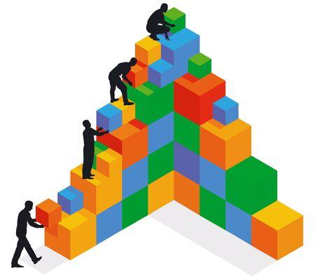 拡大: 建物と拡大