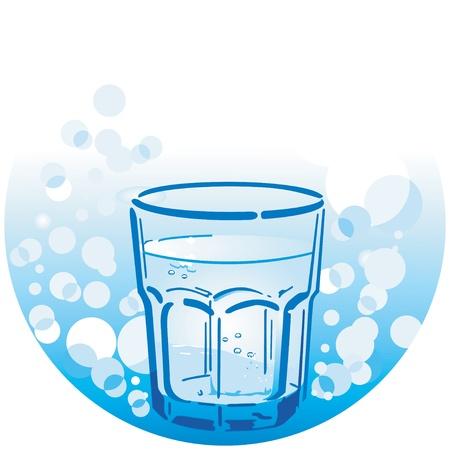 flowing water: agua potable