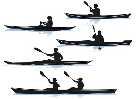 Kayak Stock Vector - 12938683