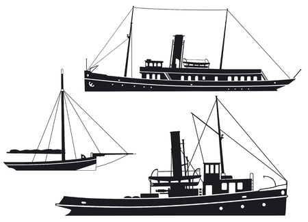 tug boat: Steam ships and boats