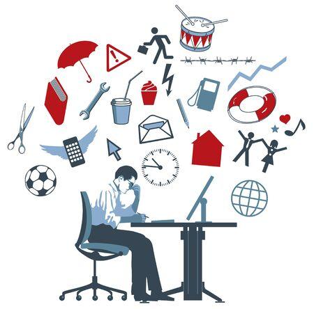 solucion de problemas: Soluci�n de problemas digitales Vectores