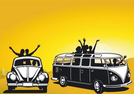 escarabajo: Viajar en los a�os sesenta