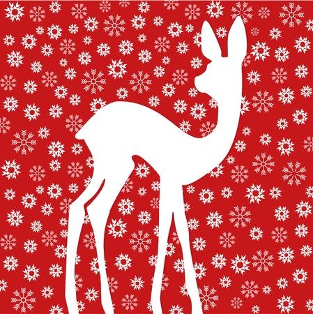 Bambi Vector Illustratie
