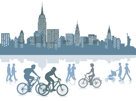New York Stock Vector - 14098104