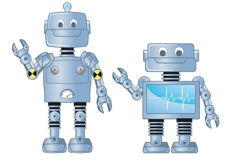 science fiction: robot
