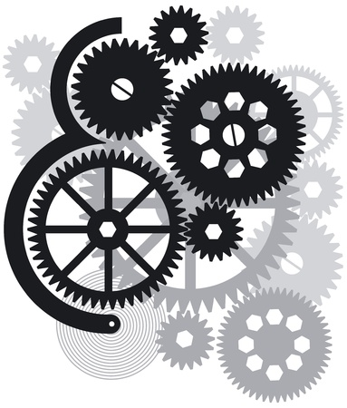 Gear drive Stock Vector - 14188183