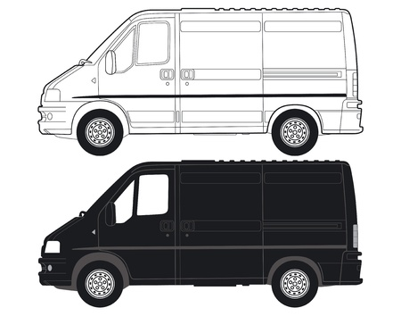 Transportation Van Vector