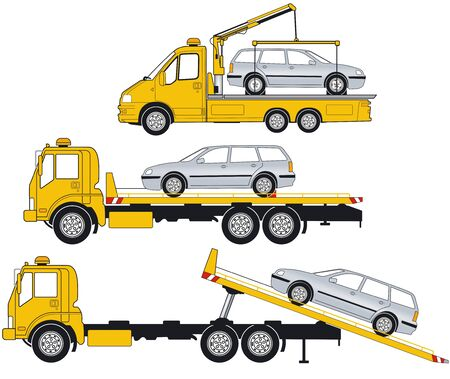 tow truck: tow truck