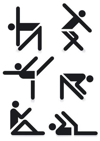 Gymnastics Pictograms