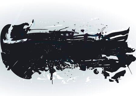 ink spill: grunge background
