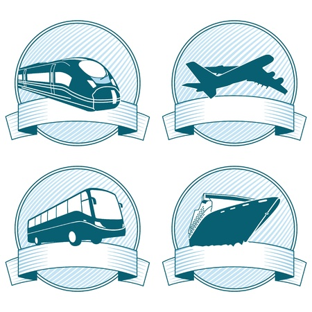 tours: passenger Transportation Illustration