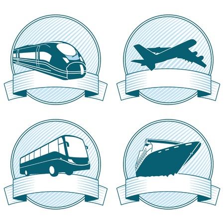 tour: passenger Transportation Illustration