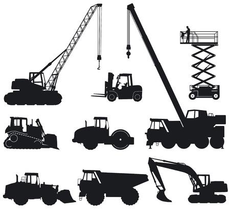 vinçler: İnşaat makineleri