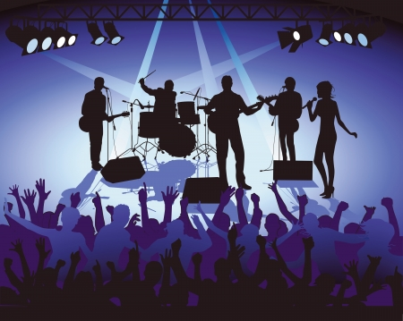 Concert Event Stock Vector - 15645713