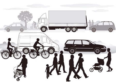 pedestrian: Road Traffic