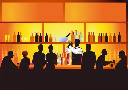 bartender: Bar de nuit