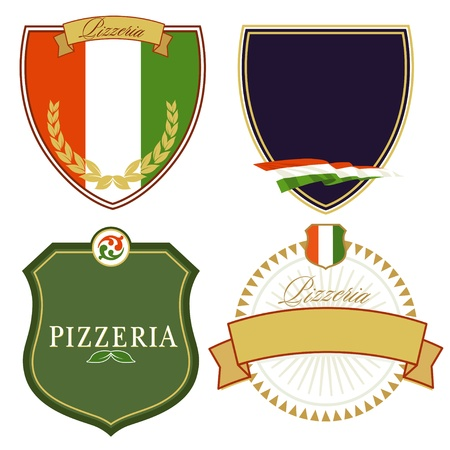 Italian Signs Stock Vector - 15996085