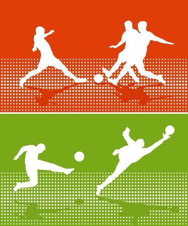 Soccer Sport Stock Vector - 16077126