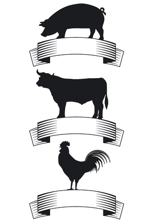 Carne de res, cerdo, aves de corral