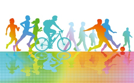 Sport and Exercise Vector