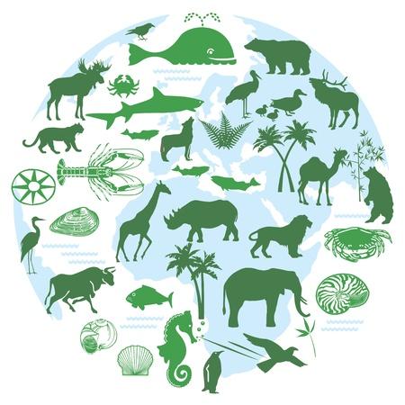 animal symbols Stock Vector - 17518722