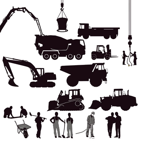 Building and Construction Stock Vector - 17854650