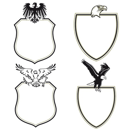 eagle crest, wings second