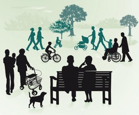 �ltere menschen: Generationen