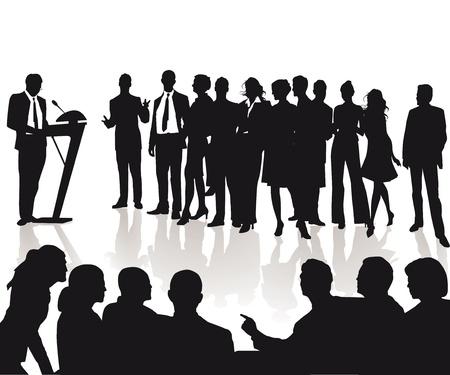 listeners: Speech and talk