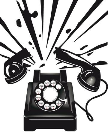 disturbing: Telephone terror