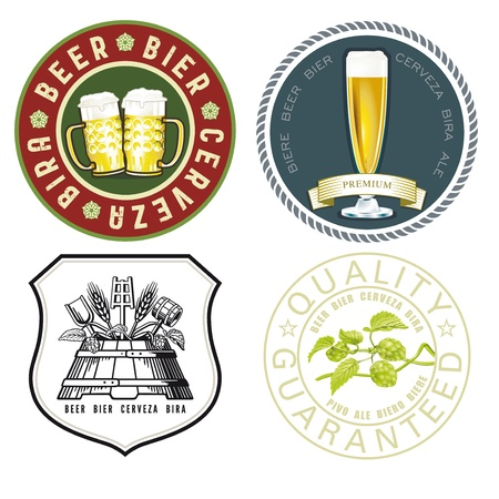 beer emblem Stock Vector - 18344314