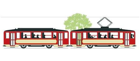 Tramways Stock Vector - 18419411