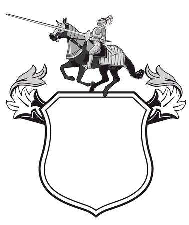 Knights tournament crest