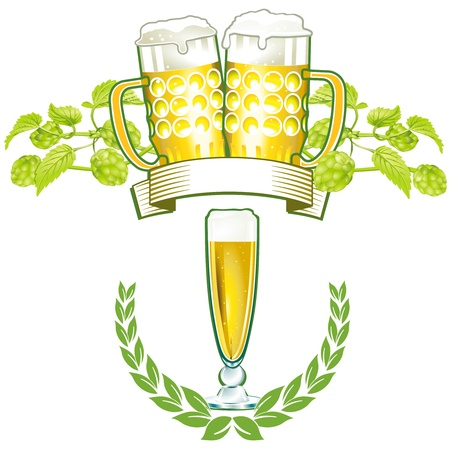 Beer mark Vector