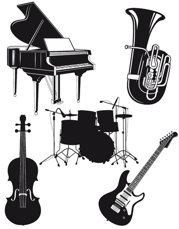 drum and bass: Orchestral Instruments