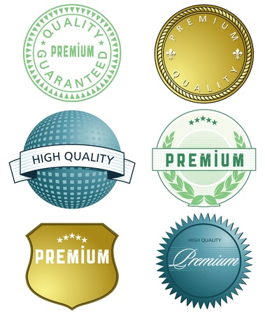 promising: High Quality Label Illustration