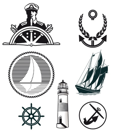 maritime mark Stock Vector - 19048720