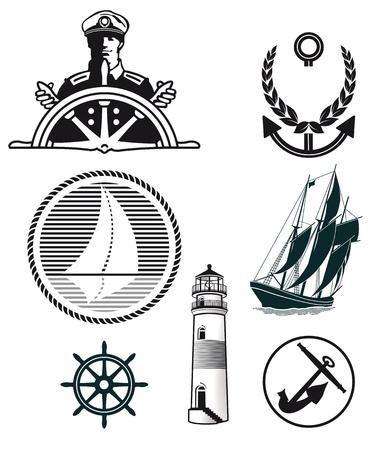 ship captain: maritime mark