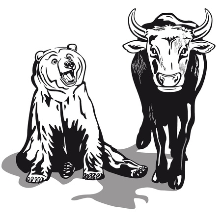 bear market: Bull and Bear