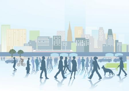 towards: Big city panorama