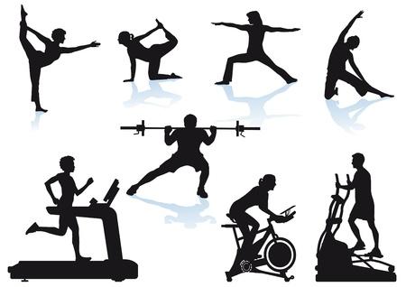 gym equipment: Fitness sport