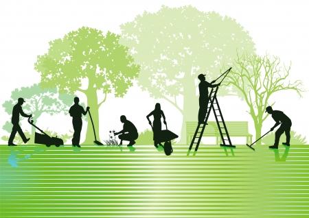 Gartenbau und Gartenpflege