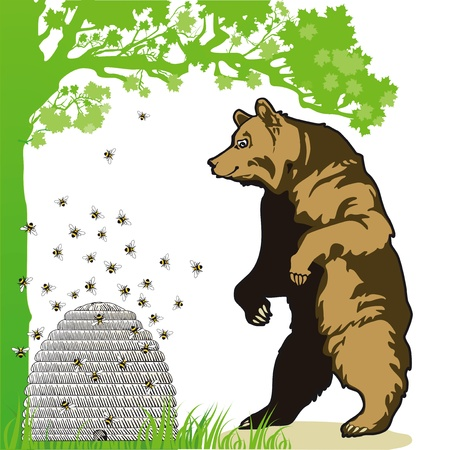 beekeeper: Bear with beehive