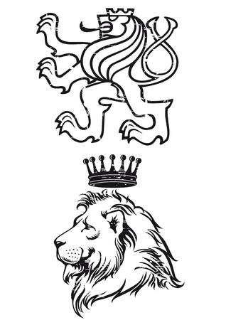 heraldic symbols: Lion Coat of Arms